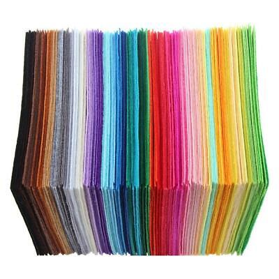 40pcs Non-Woven Polyester Cloth DIY Crafts Felt Fabric Sewing Accessories /ND