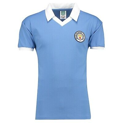 Mens Large Manchester City 1978 Home Shirt H11