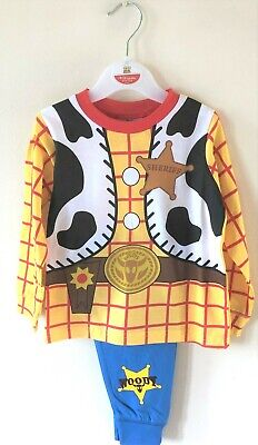 New Official Toy Story Woody Sheriff Pyjama Set Baby Boys Ages 12/24 Months