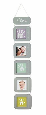 Baby Art Measure Me Baby 5 Picture Frame Height Chart inc Hand Print