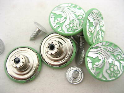 100sets green jean buttons JEAN TACKS STUDS BUTTONS Jean button replacement