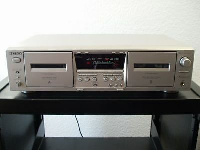 Sony TC-WE475 Doppel-Kassettendeck in silber, Pitch Control, 12 Monate Garantie*