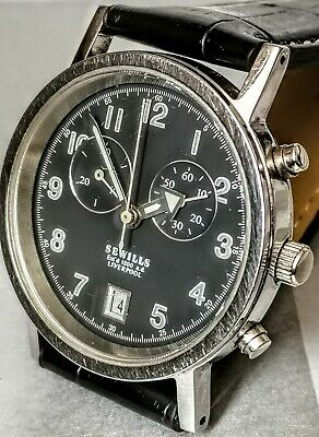 Sewills Pilot Style Chronograph Watch ,Very High End Sewills Pilot Style Chronog