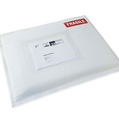 Flutelope White Paper Padded Envelopes Biodegradable 100% recyclable All sizes
