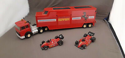 Matchbox Super Kings Iveco Ferrari Race Team Transporter