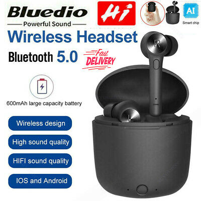 Bluedio Hi Wireless Bluetooth Earphone For iPhone X Stereo Sport Earbuds Headset