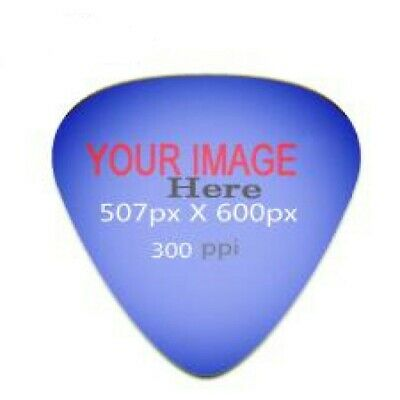 10 TEN Personalized Engraved Aluminum Guitar Picks MADE IN USA $10.95 Shipped