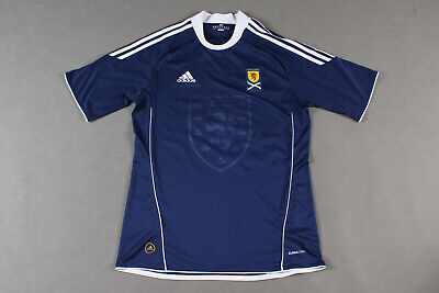 Scotland ADIDAS Home 2010-2011 Football Shirt Jersey Size M #24 FLETCHER