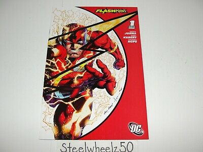 Flashpoint #1 Andy Kubert SDCC 2011 Exclusive Variant Comic DC Flash Geoff Johns