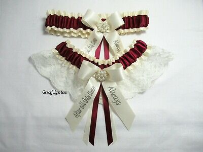 Harry Potter After all this time always Lace Bridal Wedding Garter Set.