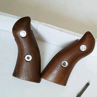 FACTORY RUGER FIREARMS Security Six Wood Grips R18 - $17 00