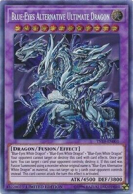 Blue-Eyes Alternative Ultimate Dragon (TN19-EN001) - Prismatic Secret Rare