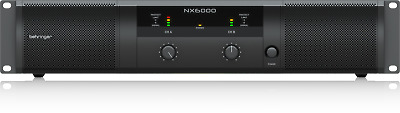 Behringer NX6000 6000-Watt Class-D Power Amplifier + Warranty