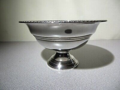 SMYTH Sterling Silver Compote - 227.7 GRAMS - Pattern 114