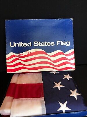 American Flag Flown Over Us Capitol In July 1983 With Coa Senator Russell Long