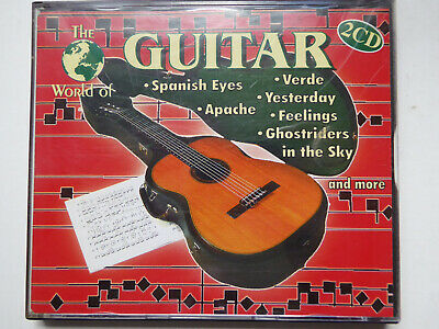 VARIOUS <>  The World Of Guitar  <> VG+ (2CD)