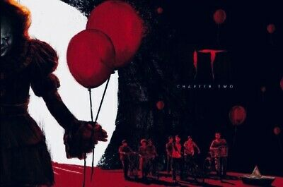 IT CHAPTER TWO - Part 2 of 2 - OFFICIAL ODEON A4 POSTER (2019)