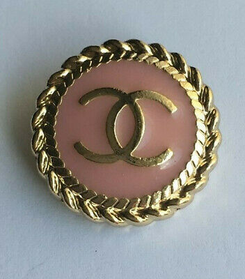 ONE Chanel button, 20mm stamped