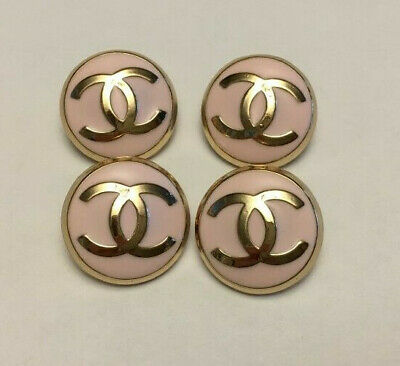 Chanel buttons - set of 4