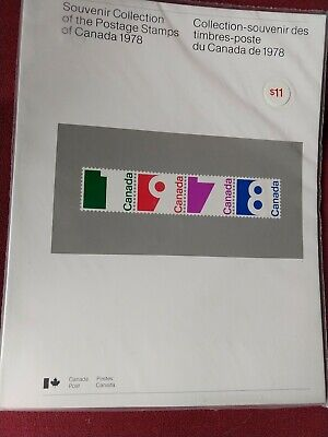 CANADA Postage Stamps, 1978 Complete Year Set collection, Mint NH,