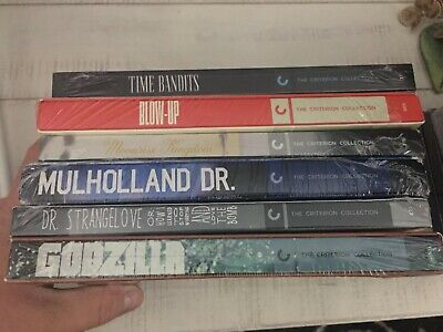 Lot Of 6 Criterion Collection DVDs