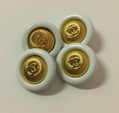 Chanel buttons set of 4,  19mm