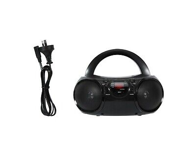 NEW Anko Portable CD Player/Boombox w/ AM/FM Radio/with Carrying Handle