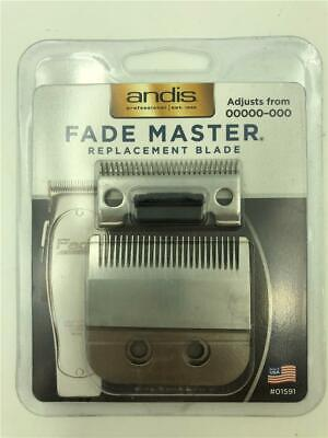 NEW Andis Fade Master Replacement Clipper Blade 01591 Adjusts from 00000-000