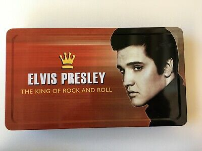 ELVIS PRESLEY     The King Of Rock and Roll          Gift Box New