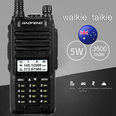 Baofeng A58S Waterproof 10W Tri-Band Walkie Talkie 128CH Two Way Radio VOX CTCSS
