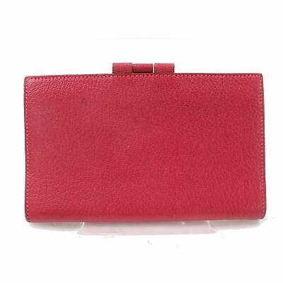 Authentic Hermes Diary Cover Organizer Vision 034075CA Pinks Leather 1104626