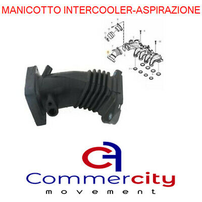 Manicotto Collettore Aspirazione Intercooler Ford Focus C-Max 1.6 Tdci 90Cv