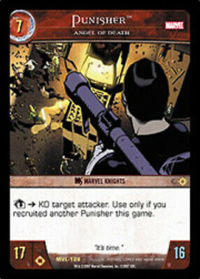 Marvel Legends TCG CCG C Moderately Played VS System: Punisher Angel of Death