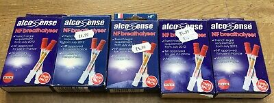 Job lot of Alcosense NF Breathalyser Twin Pack