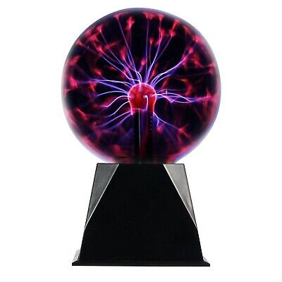 Magic Plasma Ball Desk Lamp Light Nebula Sphere Lightning Globe Glass Ball Decor