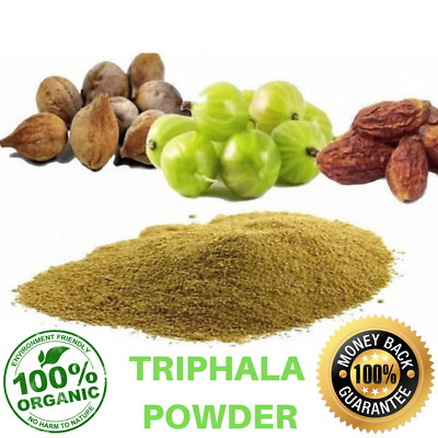 Organic Triphala Powder | Colon Cleanse Eye Health | Pure From India Natural
