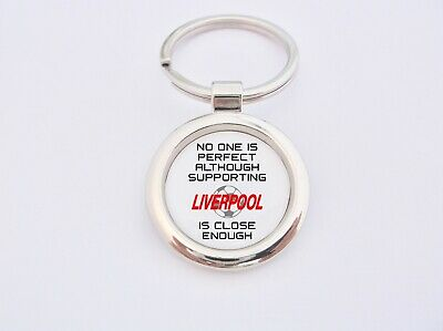 Almost Perfect Supporting Liverpool Key Fob Bottle Opener Keyring Badge Gift