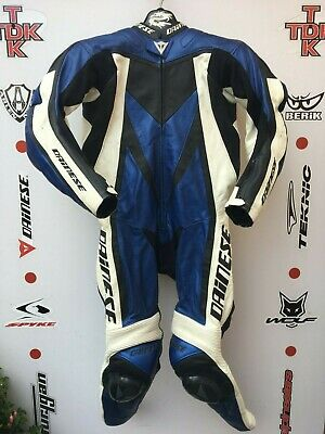 Dainese FLANKER 1 piece race suit with hump uk 42 euro 52