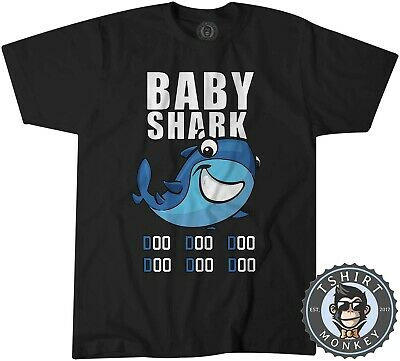 Baby Shark Doo Doo Doo Kid Child Gift Young Tshirt T Shirt Mens Kids 0851