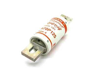 New Gould Shawmut A70P125 Fuse Type 4 Form 101