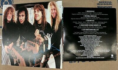Metallica The $5.98 EP Garage Days Re-Revisited Remastered Digipak casing EX++