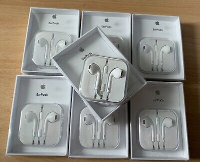 ORIGINAL APPLE EARPOD iPhone 5 6 6S iPad écouteur kit mains libres pieton MD827