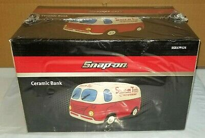 NEW Snap On Tools Ceramic Piggy Bank Limited Edition SSX17P121