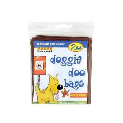 Snappies Doggie Doo Bags With Odour Fragrance x 400 bags -full box