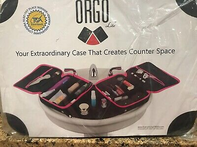 Expandable Travel Organizer By Everything ORGO Creates Counter Space NIP