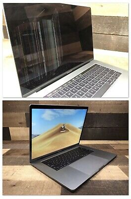 "2016 2017 MacBook Pro Screen Repair Service A1706 A1707 A1718 13"" 15"" 13in 15in"