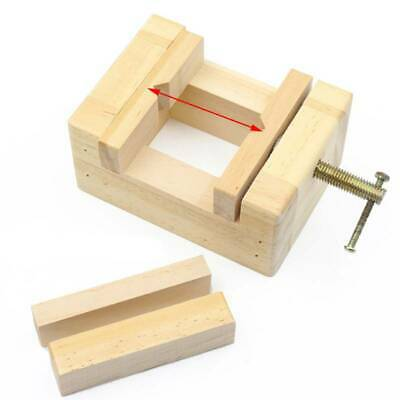 Wood Table Bench Vise Hobby Jewelry Engraving Vise Clamp Repair Hand Gadget Y