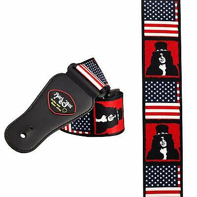 Adjustable Guitar Strap Slash Guns and Roses Rock Band electric acoustic bass UK