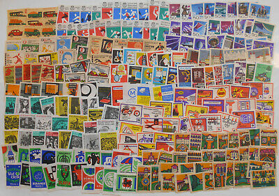 More Than 200 Czechoslovakian Matchbox Labels from 1967-1968