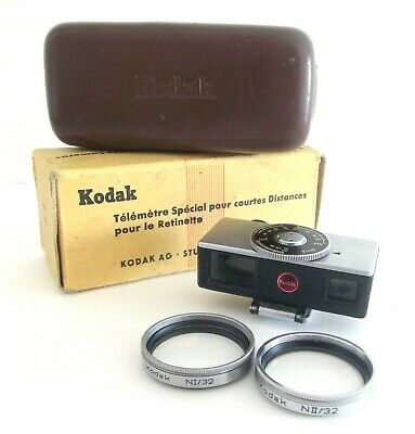 Vintage Kodak Rettinette Close-Up Rangefinder Set